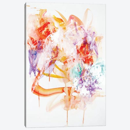 Tastes Like Ice Cream Canvas Print #SJA23} by Sana Jamlaney Canvas Wall Art