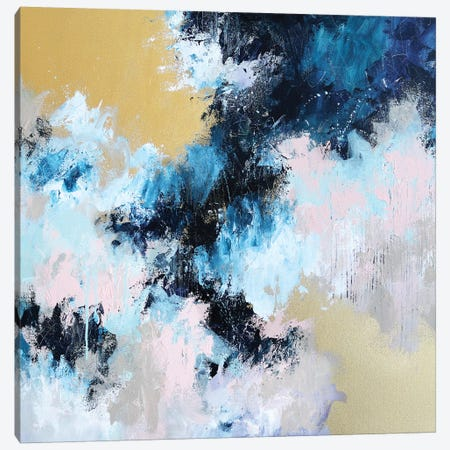 Making Sense Of It Canvas Print #SJA29} by Sana Jamlaney Canvas Artwork