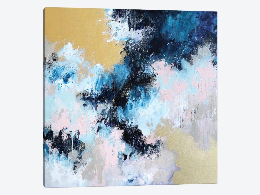 Making Sense Of It by Sana Jamlaney 1-piece Canvas Print