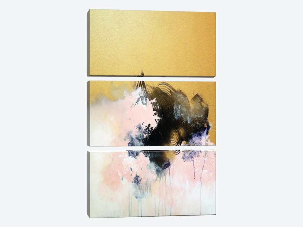 All That Glitters II by Sana Jamlaney 3-piece Canvas Wall Art