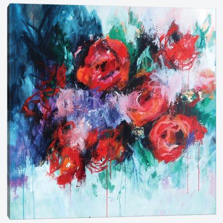 Stepping Into The Light Canvas Print #SJA31} by Sana Jamlaney Canvas Print