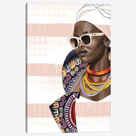 Bring It 3-Piece Canvas #SJA33} by Sana Jamlaney Art Print
