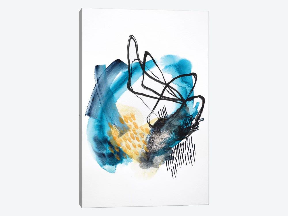 Follow The Tide by Sana Jamlaney 1-piece Canvas Print