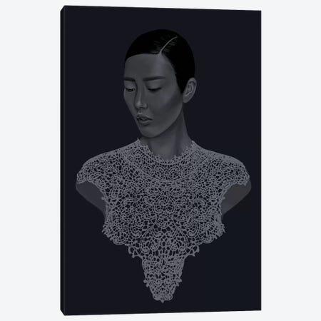 Food Chain Canvas Print #SJA36} by Sana Jamlaney Canvas Art
