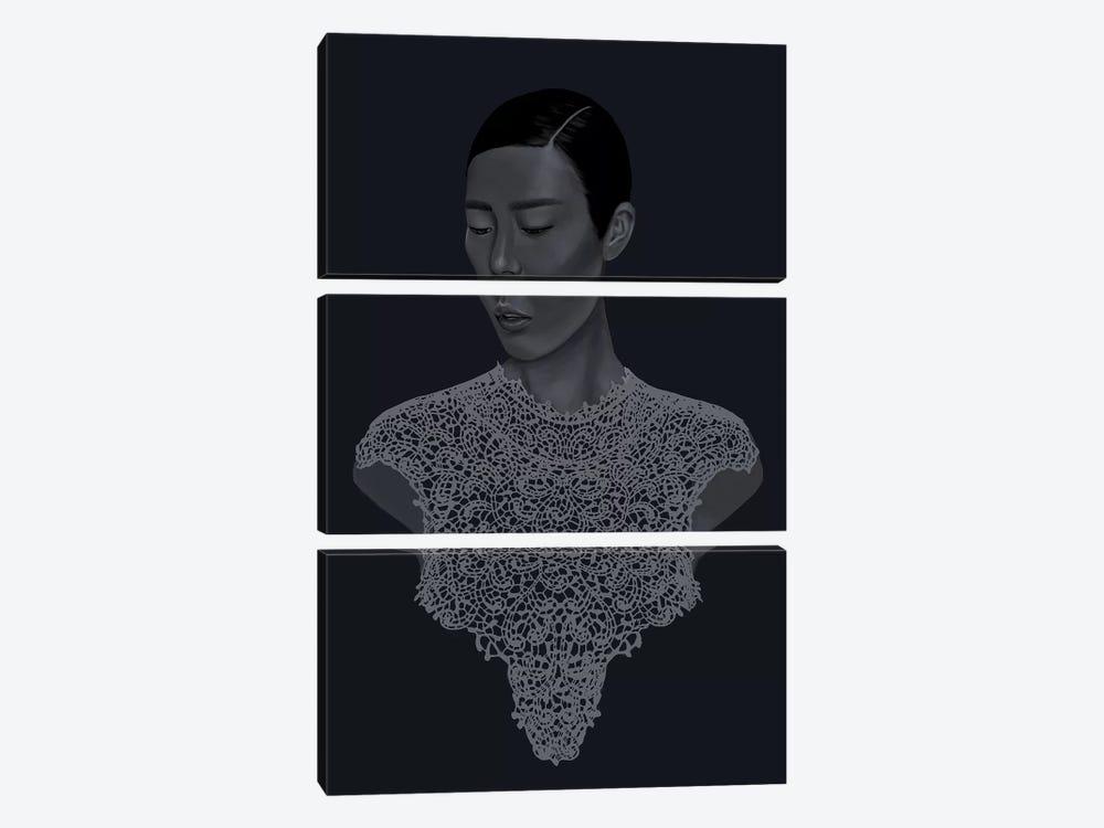 Food Chain by Sana Jamlaney 3-piece Art Print