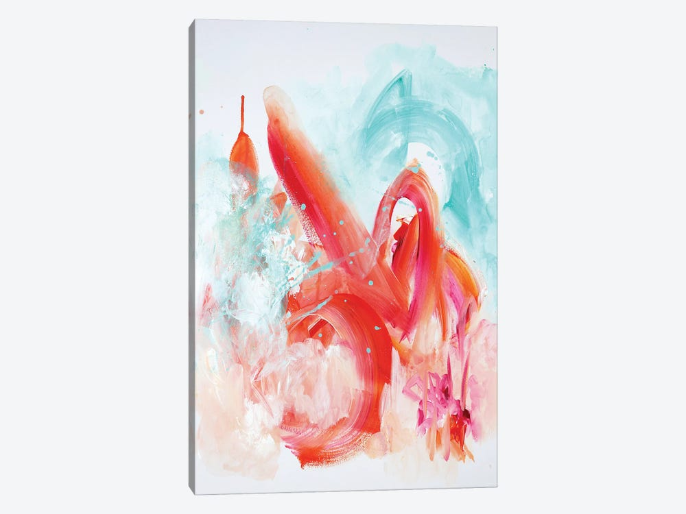 Granulated by Sana Jamlaney 1-piece Canvas Wall Art