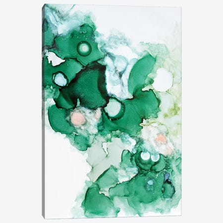 Green I Canvas Print #SJA38} by Sana Jamlaney Canvas Art Print