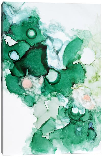 Green I Canvas Art Print
