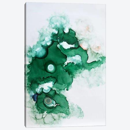 Green II 3-Piece Canvas #SJA39} by Sana Jamlaney Canvas Print