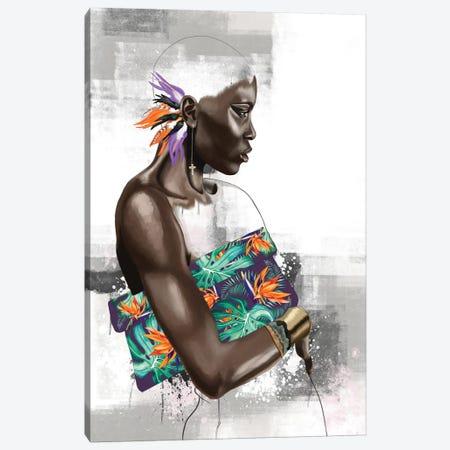 Paradise Bound 3-Piece Canvas #SJA42} by Sana Jamlaney Canvas Art