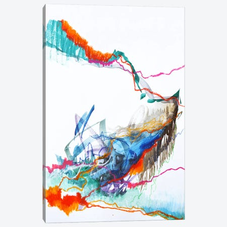 The Scientist  Canvas Print #SJA48} by Sana Jamlaney Canvas Artwork