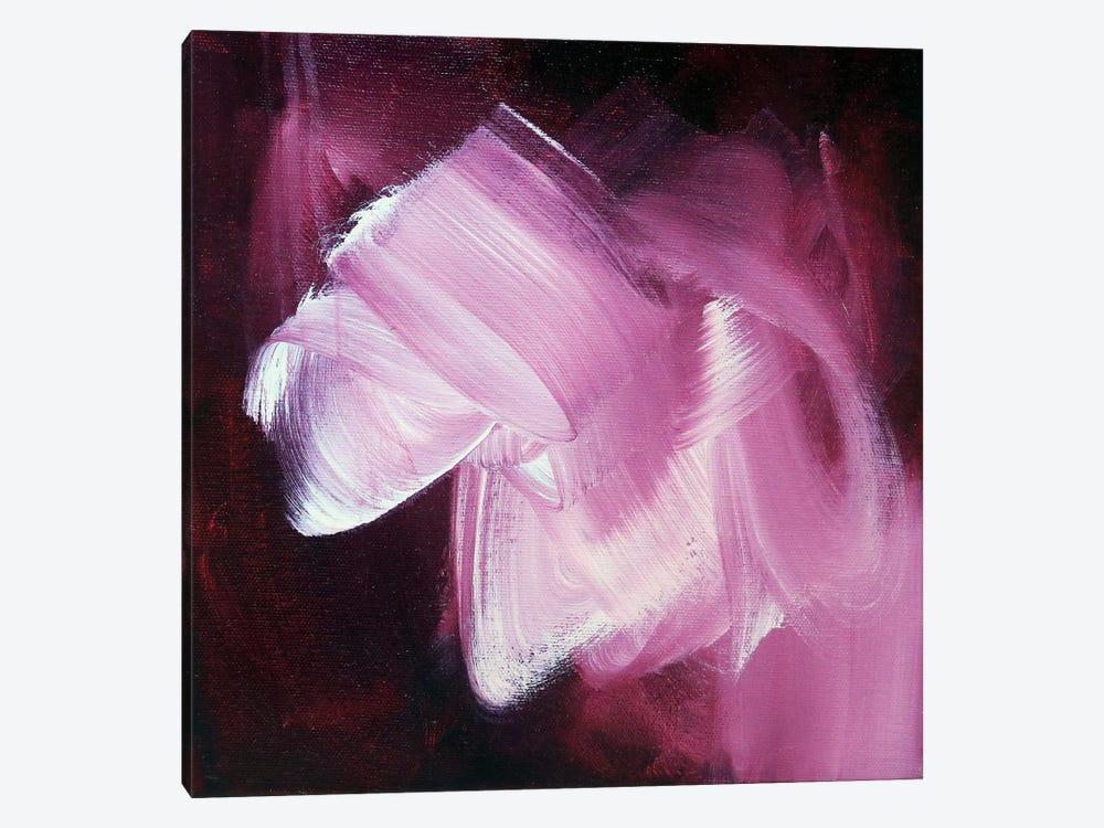 Color Study: Maroon II by Sana Jamlaney 1-piece Canvas Art