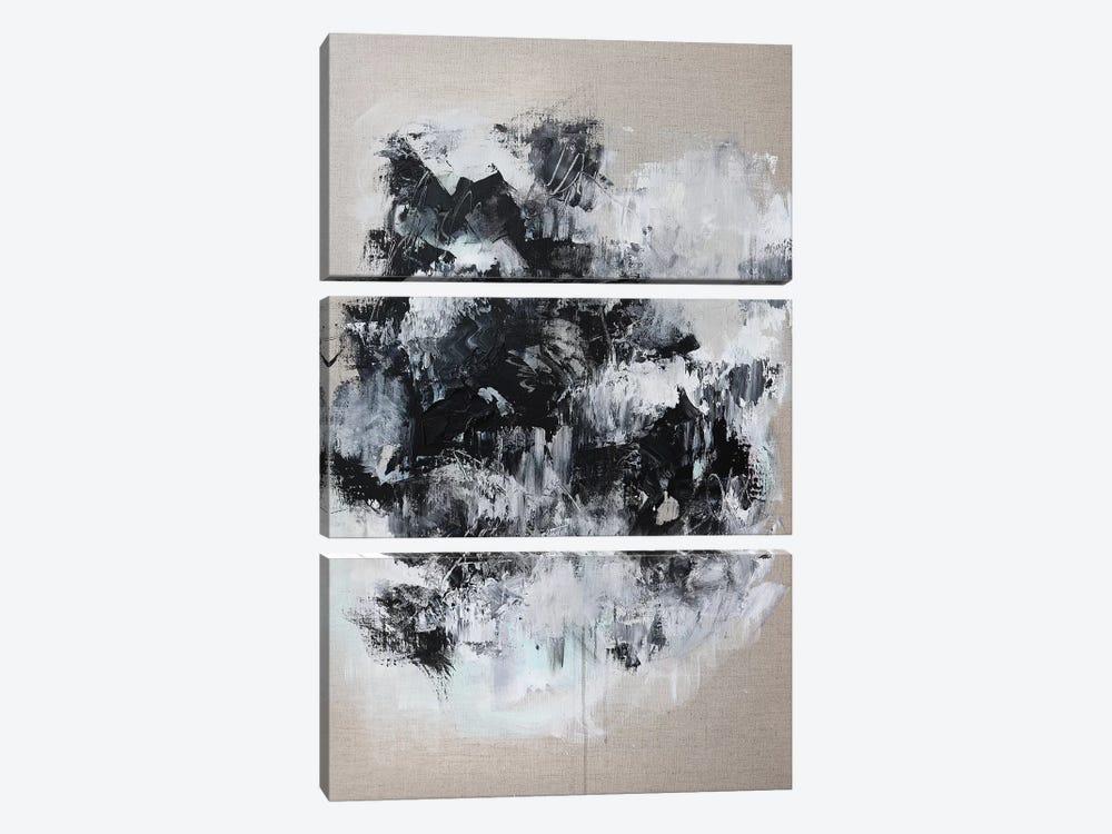 At Bay I by Sana Jamlaney 3-piece Canvas Print
