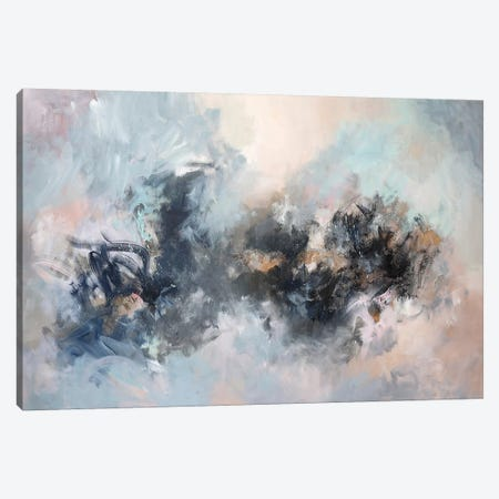 Dark Horse Canvas Print #SJA52} by Sana Jamlaney Art Print