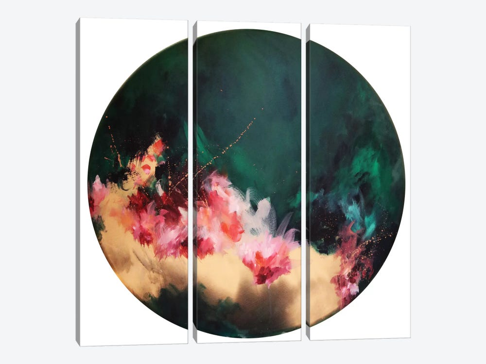 Eden by Sana Jamlaney 3-piece Canvas Print
