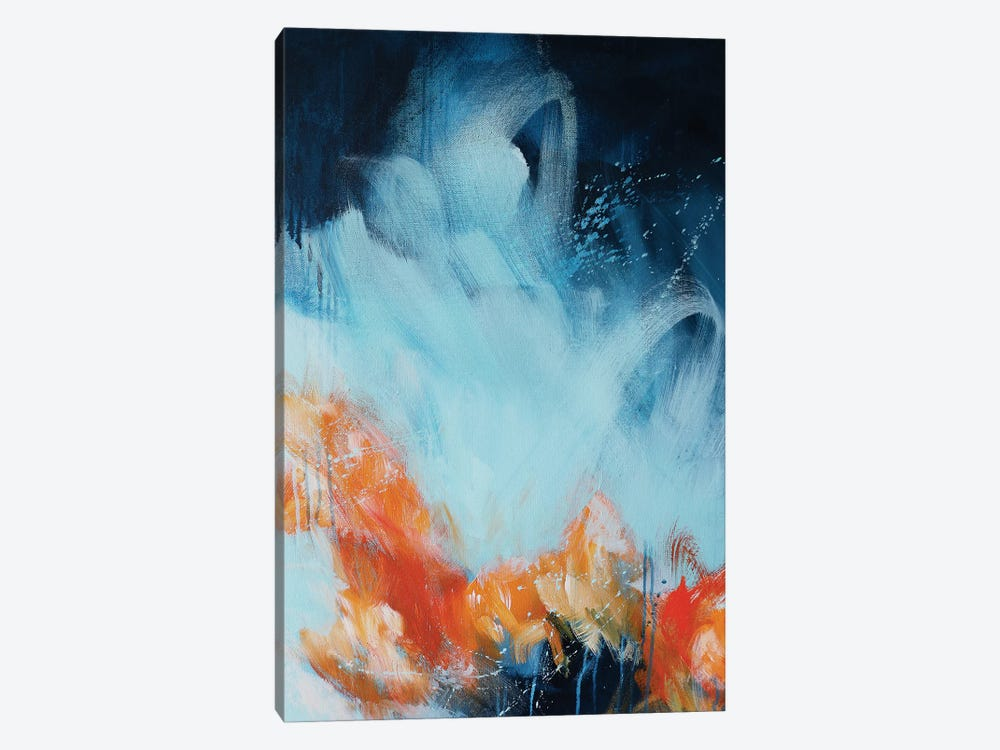 Ripple II by Sana Jamlaney 1-piece Canvas Art