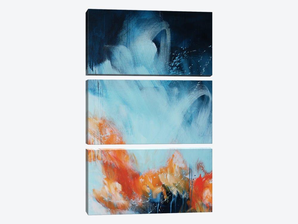 Ripple II by Sana Jamlaney 3-piece Canvas Artwork