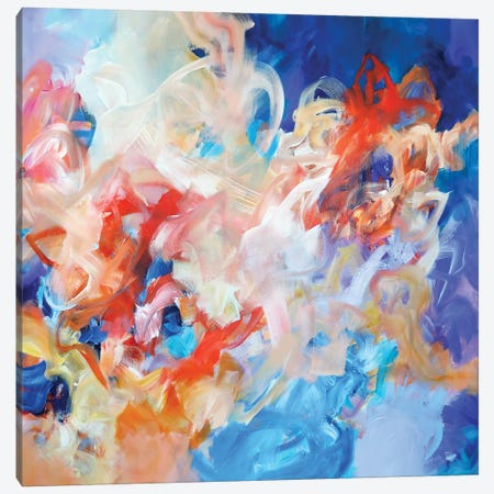 Changing Tides II Canvas Print #SJA63} by Sana Jamlaney Canvas Artwork
