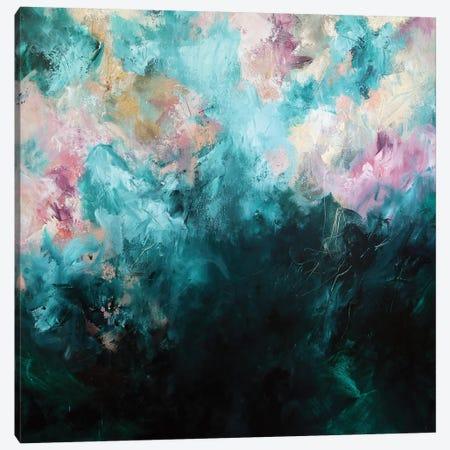 Fields of Gold  Square Canvas Print #SJA64} by Sana Jamlaney Canvas Art Print