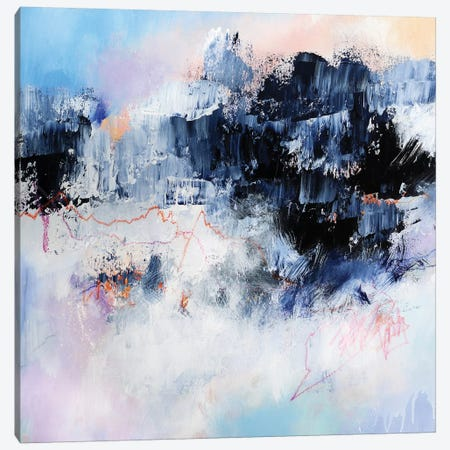 Freezing Point  Canvas Print #SJA65} by Sana Jamlaney Art Print