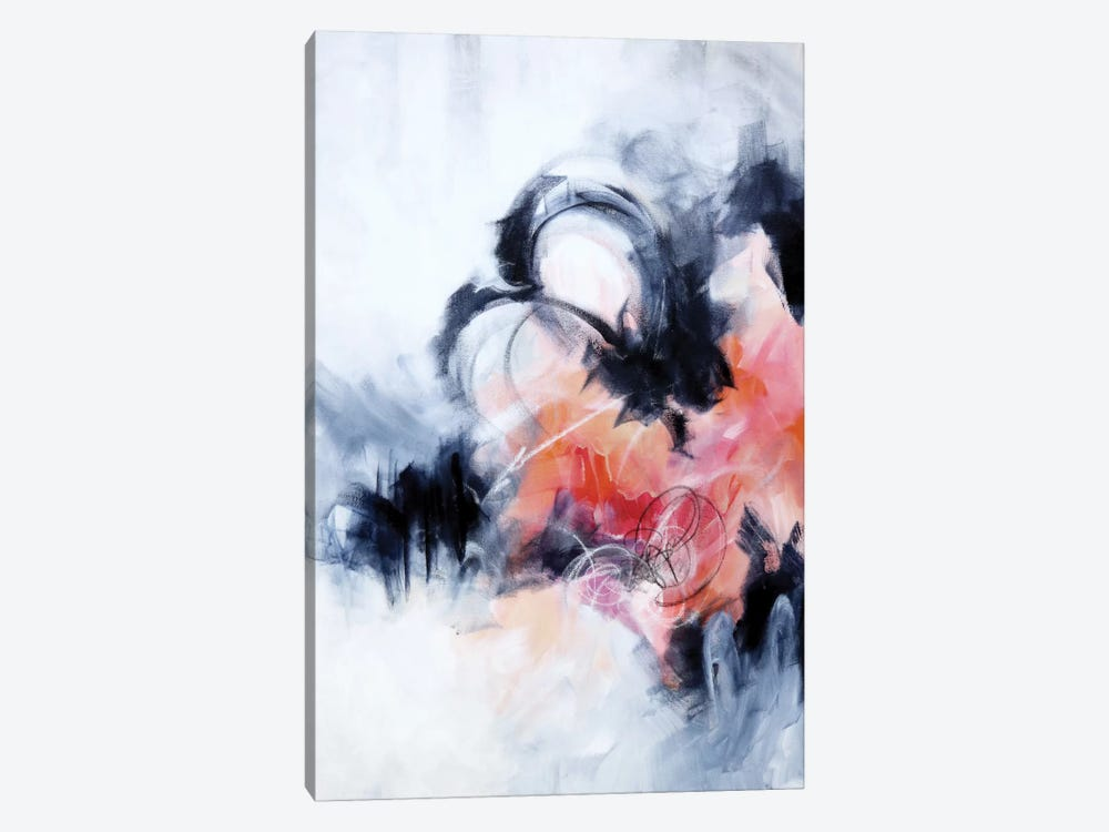 Fixation by Sana Jamlaney 1-piece Canvas Art