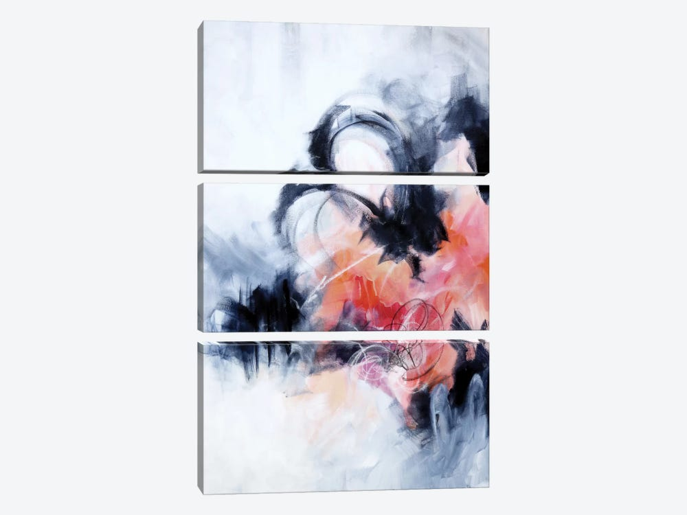 Fixation by Sana Jamlaney 3-piece Canvas Artwork