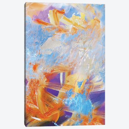 Resurrection I  Canvas Print #SJA70} by Sana Jamlaney Art Print