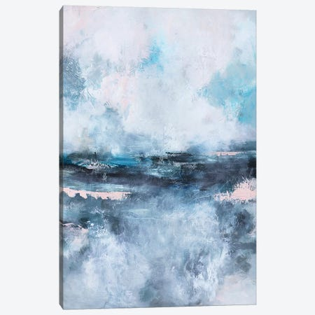 The Calm Before the Storm 3-Piece Canvas #SJA78} by Sana Jamlaney Canvas Print