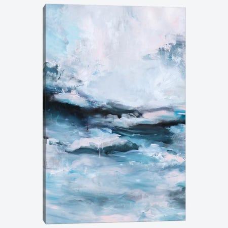 The Calm Before the Storm II 3-Piece Canvas #SJA79} by Sana Jamlaney Canvas Art Print
