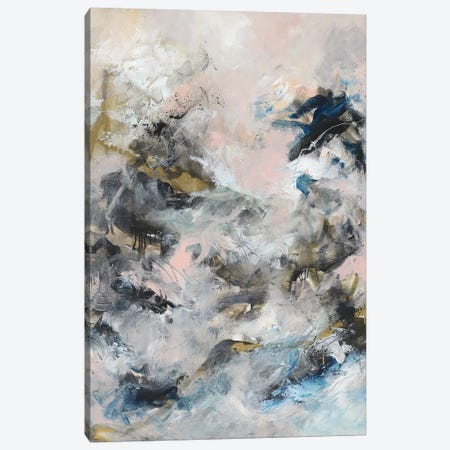 The Storm in Her Pocket Canvas Print #SJA80} by Sana Jamlaney Canvas Artwork
