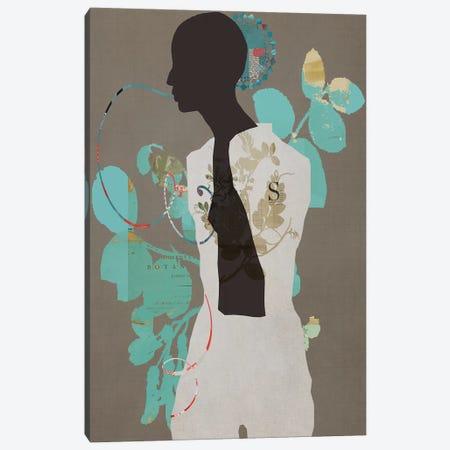Everyone Wants A Turquoise Garden Canvas Print #SJR18} by Sarah Jarrett Canvas Wall Art