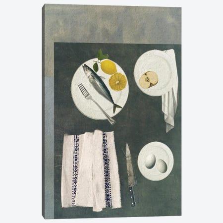 Fish Supper Canvas Print #SJR20} by Sarah Jarrett Canvas Print