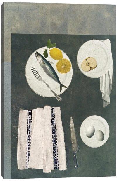Fish Supper Canvas Art Print