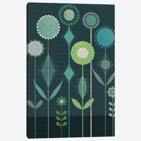 Floral Geometery Canvas Print #SJR21} by Sarah Jarrett Canvas Print