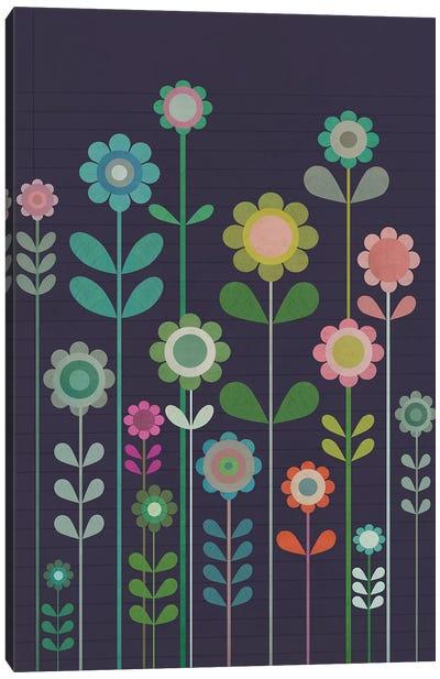 Garden Of Small Flowers Canvas Art Print