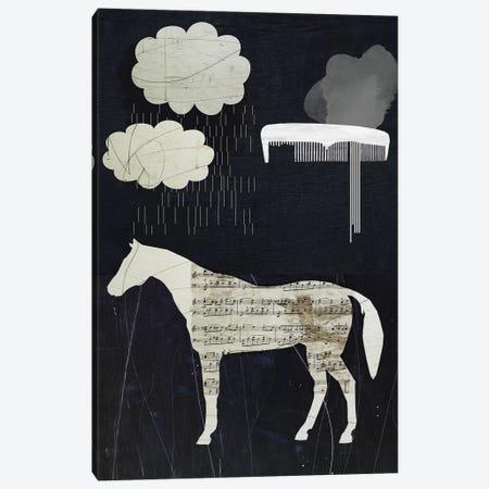 Horses In My Dreams Canvas Print #SJR24} by Sarah Jarrett Canvas Wall Art