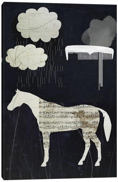 Horses In My Dreams Canvas Art Print