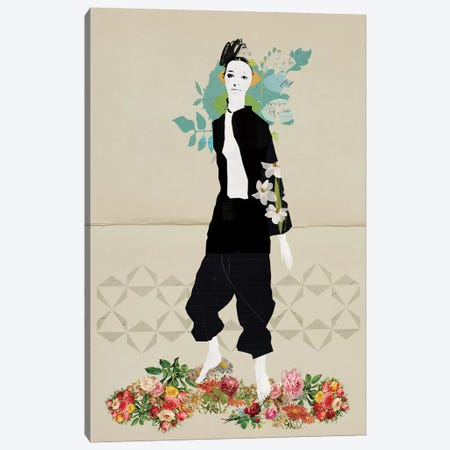 Imogen Canvas Print #SJR27} by Sarah Jarrett Canvas Artwork