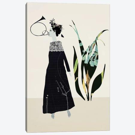 In The Garden Canvas Print #SJR30} by Sarah Jarrett Canvas Artwork