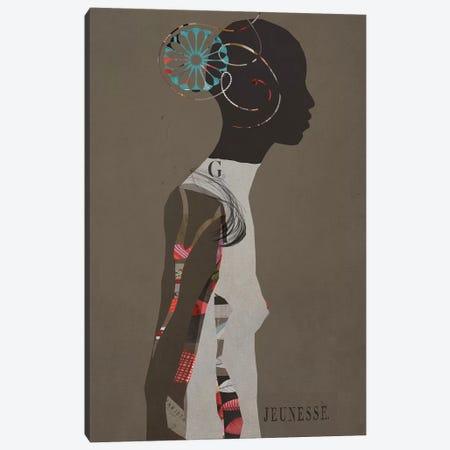 Jeunesse Canvas Print #SJR33} by Sarah Jarrett Canvas Artwork