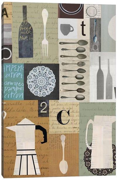 Kitchen Stories Canvas Art Print