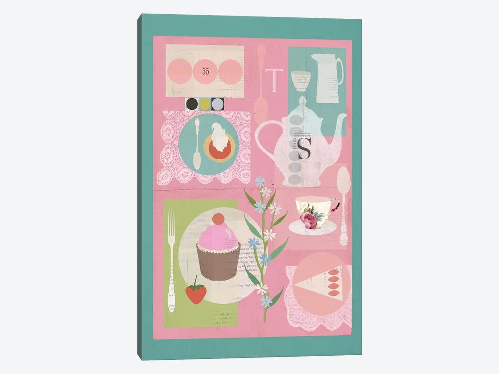 Afternoon Tea by Sarah Jarrett 1-piece Canvas Artwork