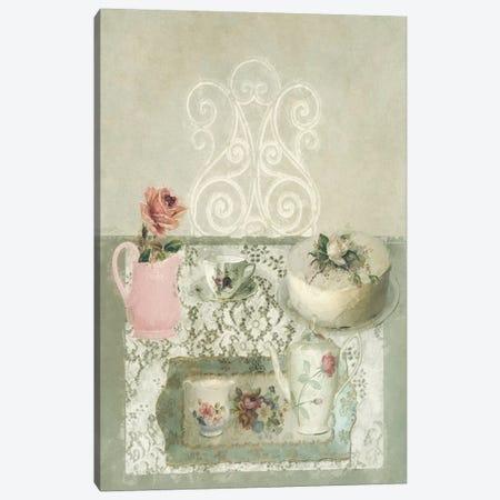 Afternoon Tea Still Life Canvas Print #SJR4} by Sarah Jarrett Canvas Artwork