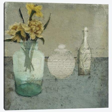 Spring On My Table Canvas Print #SJR56} by Sarah Jarrett Canvas Art Print