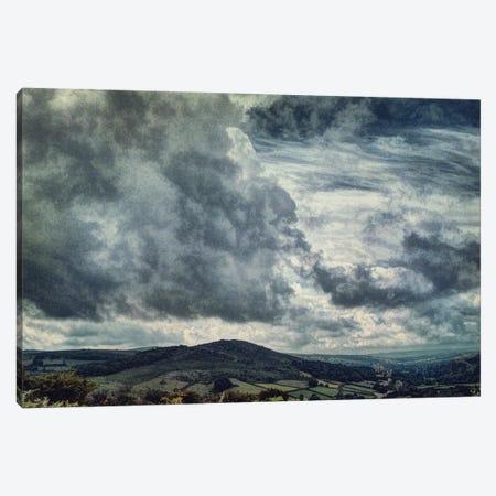 Storms Over The Moors Canvas Print #SJR58} by Sarah Jarrett Canvas Wall Art