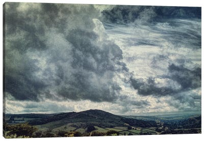Storms Over The Moors Canvas Art Print