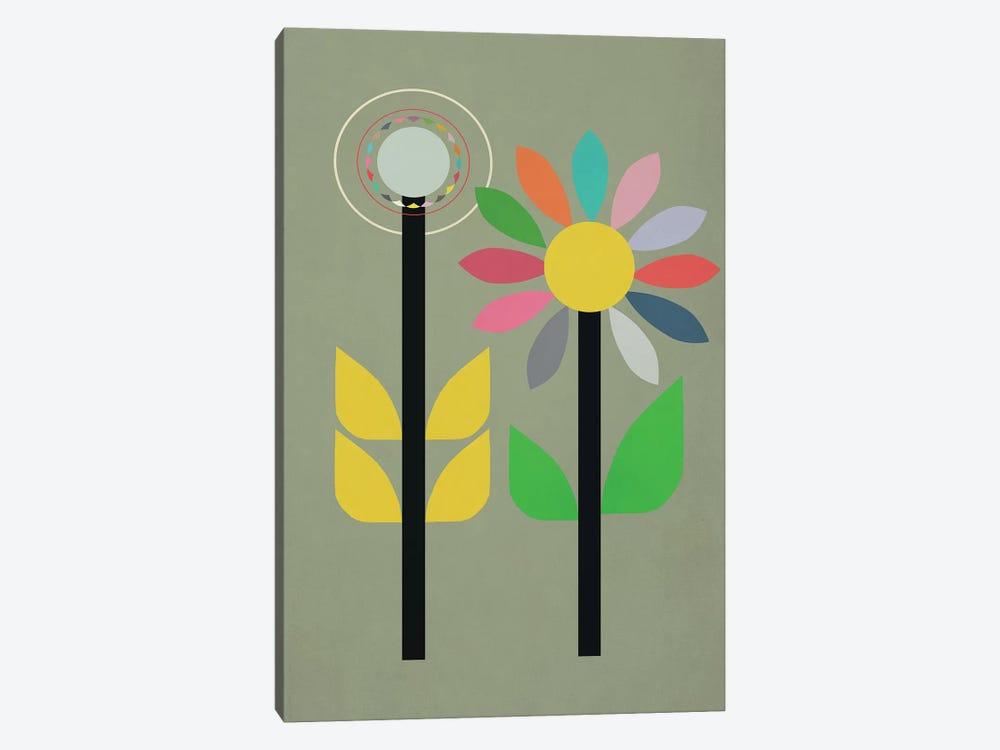 Summer Garden by Sarah Jarrett 1-piece Canvas Print