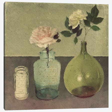 Summer Roses Canvas Print #SJR63} by Sarah Jarrett Canvas Print