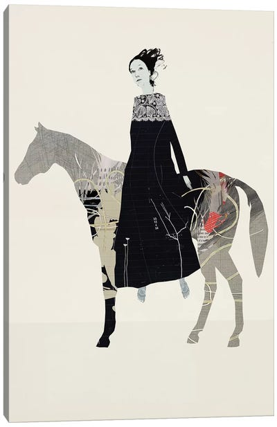 The Runaway Horse Canvas Art Print