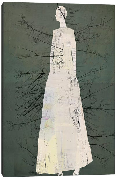 Tree Of Bones Canvas Art Print